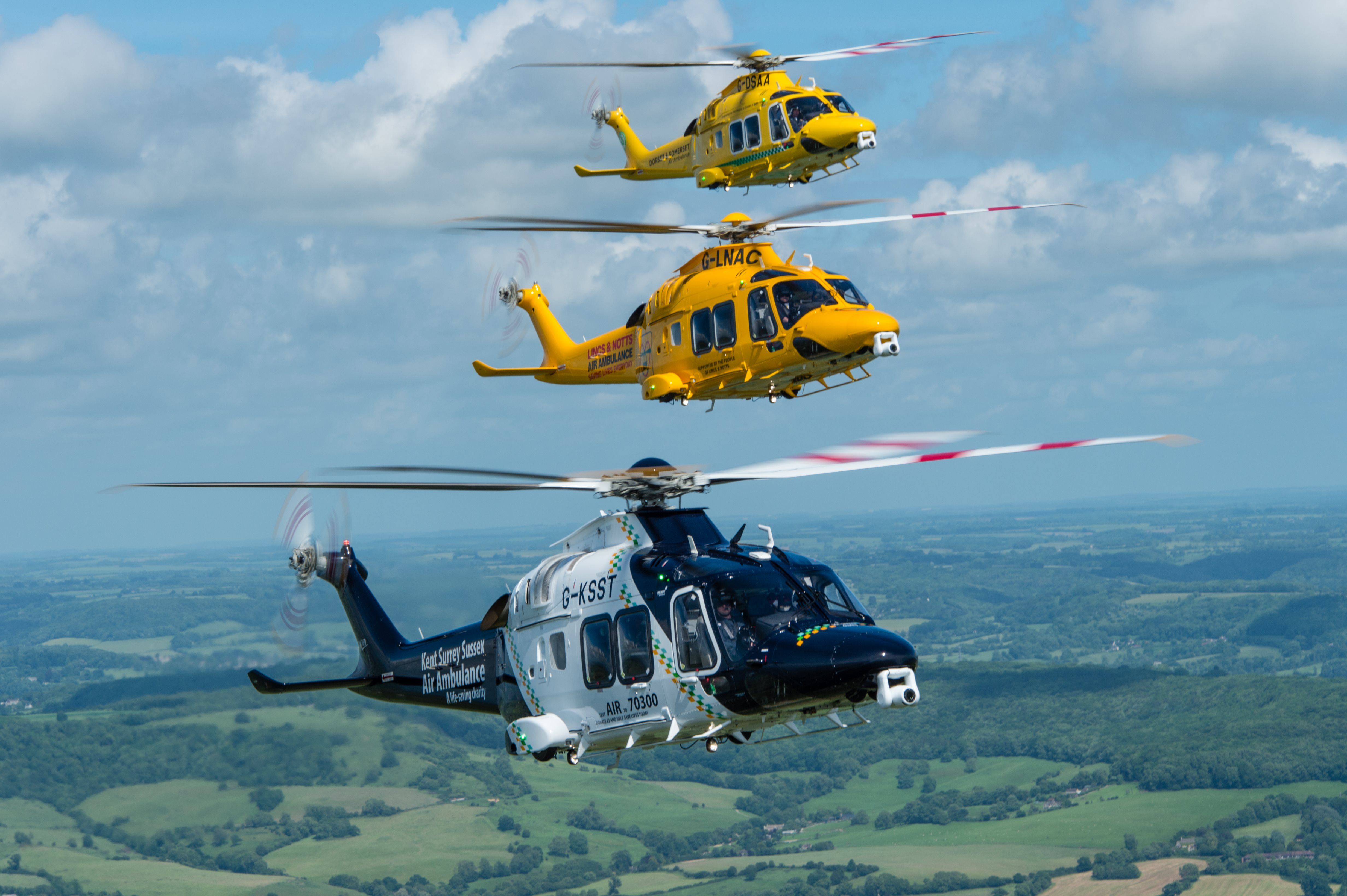 SAS becomes the launch operator for HEMS Leonardo AW169 in the UK