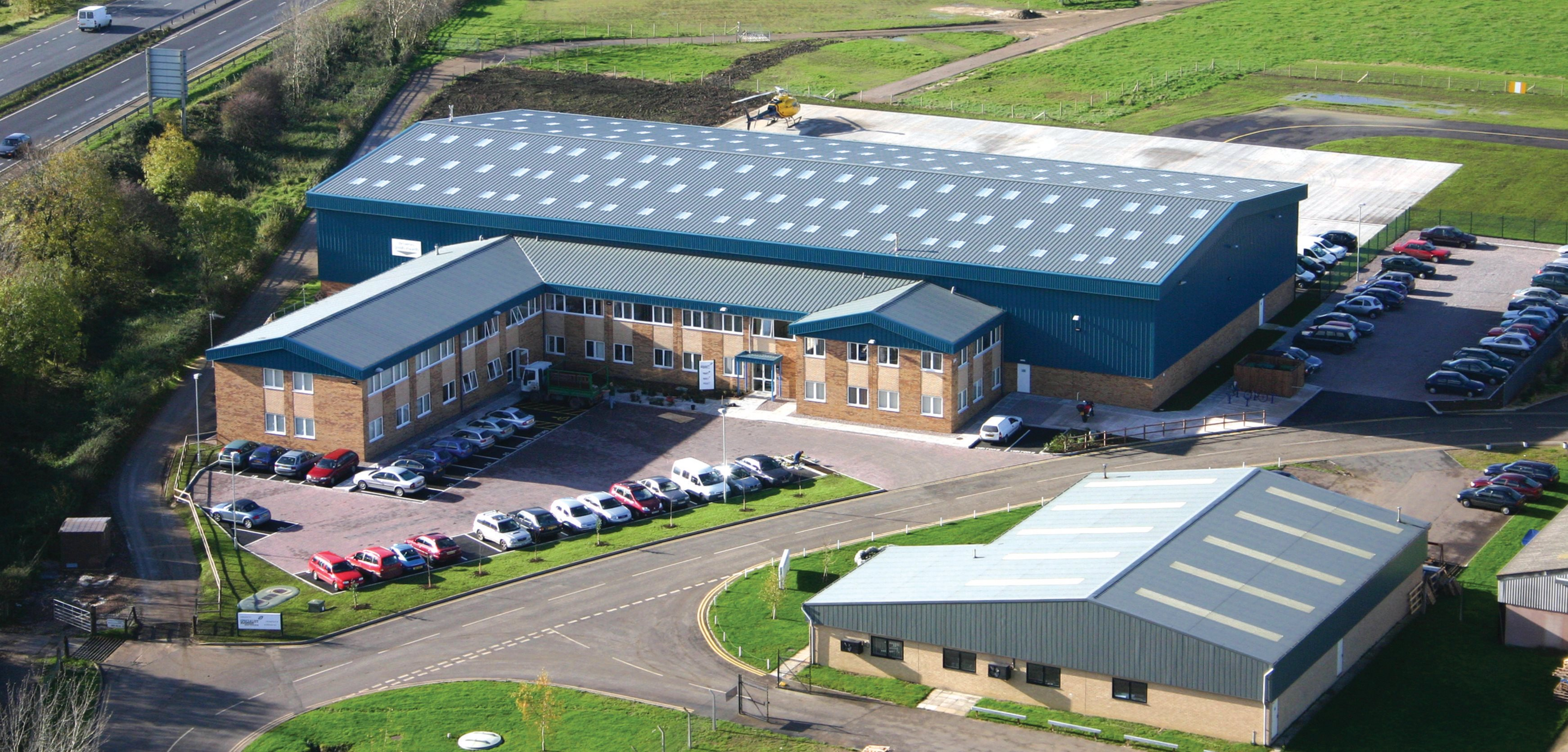 We moved to a brand new purpose built hangar and office building at Staverton Airport, Gloucestershire, UK.